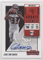 Rookie Ticket Autograph - Carlton Davis