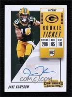 Rookie Ticket Autograph - Jake Kumerow