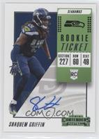 Rookie Ticket Autograph - Shaquem Griffin