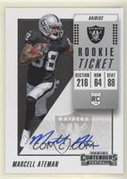 Rookie Ticket Autograph - Marcell Ateman