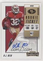 Rookie Ticket Autograph - D.J. Reed