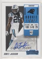 Rookie Ticket/Rookie Ticket Variation - Donte Jackson