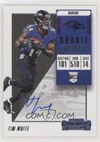 Rookie Ticket/Rookie Ticket Variation - Tim White