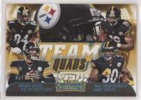 Antonio Brown, Ben Roethlisberger, JuJu Smith-Schuster, James Conner /25