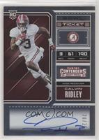 RPS College Ticket Variation A - Calvin Ridley #/25