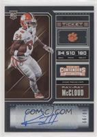 College Ticket - Ray-Ray McCloud /99
