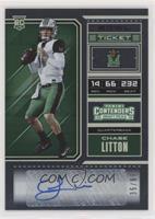 College Ticket - Chase Litton /99
