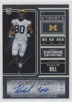 College Ticket - Khalid Hill /99