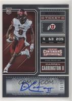 College Ticket - Darren Carrington II /99