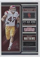 Season Ticket - Clay Matthews /99