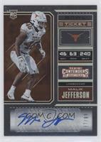 College Ticket - Malik Jefferson #/99