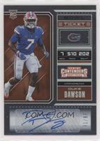 College Ticket - Duke Dawson #/99