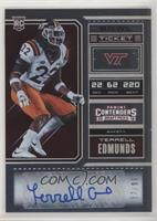 College Ticket - Terrell Edmunds #/99
