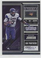 Season Ticket - David Johnson #/99