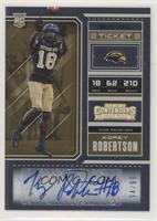 College Ticket - Korey Robertson #/99