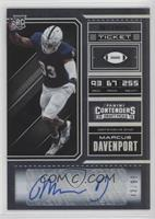 College Ticket - Marcus Davenport /99