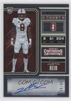College Ticket - Justin Reid /99