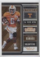Season Ticket - Alvin Kamara /99