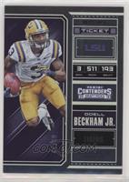 Season Ticket - Odell Beckham Jr. #/99