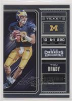 Season Ticket - Tom Brady /99