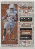 Season Ticket - D'Onta Foreman #/15