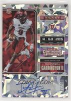 College Ticket - Darren Carrington II #3/23