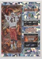Season Ticket - Michael Irvin #/23