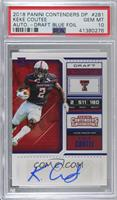 College Ticket - Keke Coutee [PSA 10 GEM MT]
