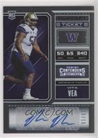 College Ticket - Vita Vea #/15
