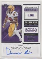 RPS College Ticket Variation B - Derrius Guice (Ball Tucked Across Chest, Facin…