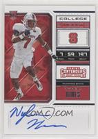 RPS College Ticket Variation A - Nyheim Hines