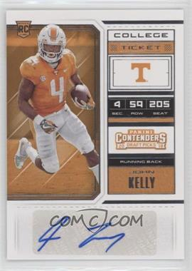 2018 Panini Contenders Draft Picks - [Base] #126.1 - College Ticket - John Kelly