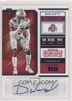 College Ticket - Denzel Ward