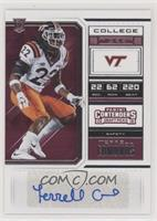College Ticket - Terrell Edmunds