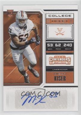 info for b39c8 35813 2018 Panini Contenders Draft Picks - [Base] #263 - College ...
