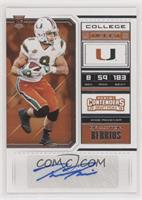 College Ticket - Braxton Berrios