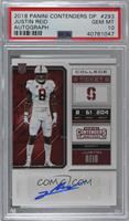 College Ticket - Justin Reid [PSA 10 GEM MT]