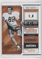 Season Ticket - Ted Hendricks