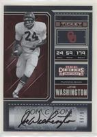 Joe Washington #/99
