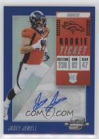 Rookie Ticket Autographs - Josey Jewell #/25