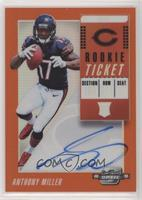 Rookie Ticket RPS Autographs - Anthony Miller /49