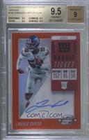 Rookie Ticket Autographs - Lorenzo Carter [BGS 9.5 GEM MINT] #/49