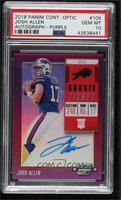 Rookie Ticket RPS Autographs - Josh Allen [PSA 10 GEM MT] #37/49
