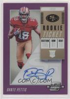 Rookie Ticket RPS Autographs - Dante Pettis #/99