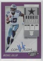 Rookie Ticket RPS Autographs - Michael Gallup #/99