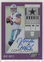 Rookie Ticket RPS Autographs - Mike White #/99