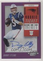 Rookie Ticket Autographs - Danny Etling /99