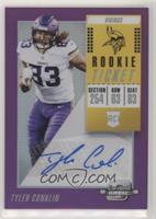 Rookie Ticket Autographs - Tyler Conklin /99