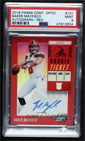 Rookie Ticket RPS Autographs - Baker Mayfield [PSA 9 MINT] #/99