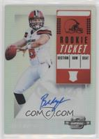 Rookie Ticket RPS Autographs - Baker Mayfield